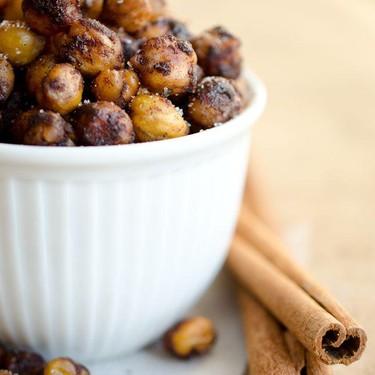 Cinnamon Sugar Roasted Chickpeas Recipe | SideChef