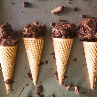 "Almond Butter Cup ""Ice Cream"" Recipe | SideChef"