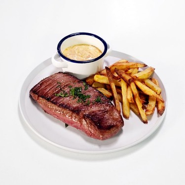 Bavette (Flank Steak) with Shallot Sauce and Fries Recipe   SideChef