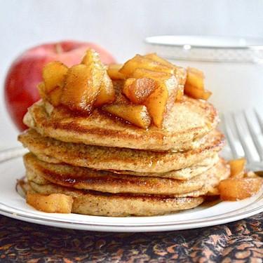 Mulled Apple Cider Pancakes Recipe   SideChef