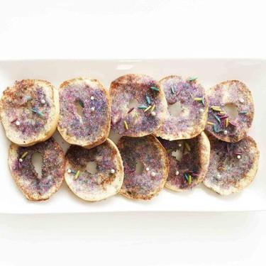 Mermaid Treasure Bagel Crisps Recipe   SideChef