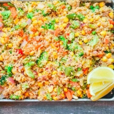 Chipotle Roasted Vegetable Couscous Recipe | SideChef