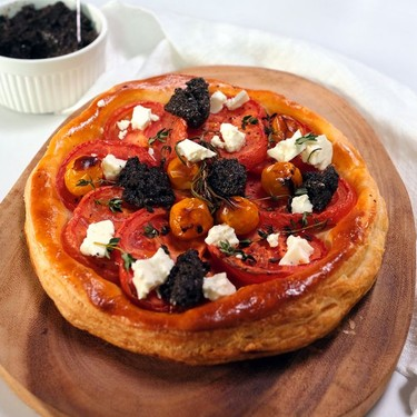 Tomato Tart with Olive Tapenade Recipe   SideChef