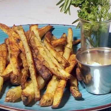 Baked Rosemary Fries Recipe | SideChef