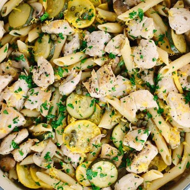 Chicken Piccata with Penne Pasta Recipe | SideChef