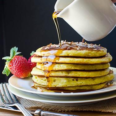 Coconut Orange Buttermilk Pancakes Recipe | SideChef