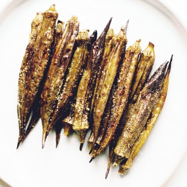 Roast Okra Recipe   SideChef