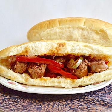 Sausage, Pepper and Onion Sandwiches Recipe | SideChef