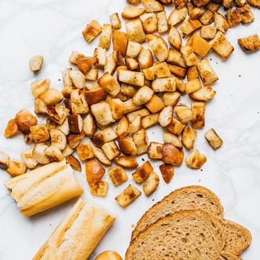 Leftover Bread Croutons Recipe   SideChef