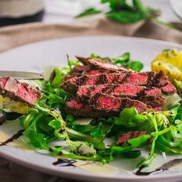 Italian Beef Tagliata with Parmesan Cheese & Balsamic Glaze Recipe | SideChef