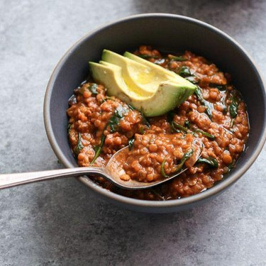 Red Lentil and Spinach Masala Recipe | SideChef