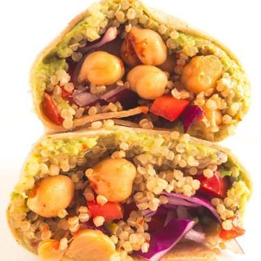 Vegan Crunchy Quinoa Wrap Recipe   SideChef