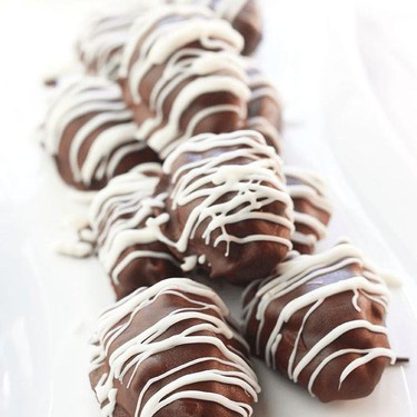 Chocolate Covered Nut Butter Stuffed Dates Recipe   SideChef