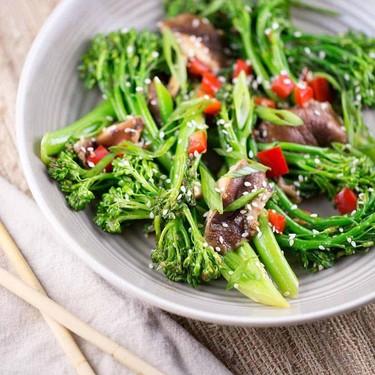 Stir-Fry with Broccolini and Shiitake Mushrooms Recipe | SideChef