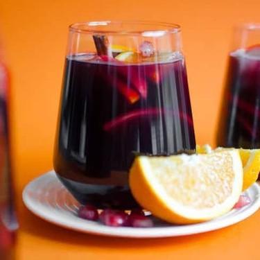 Pomegranate Holiday Sangria Recipe   SideChef