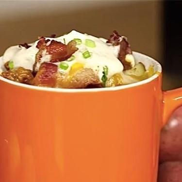 Fully Loaded Breakfast Potato Mug Recipe | SideChef