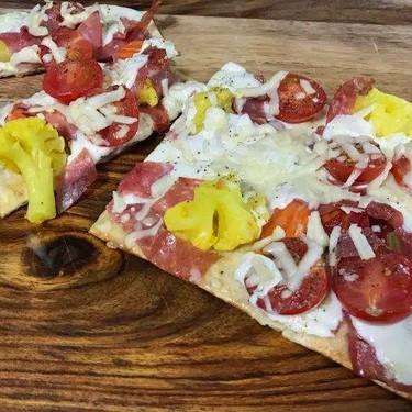 Grilled Antipasto Flatbread Recipe | SideChef