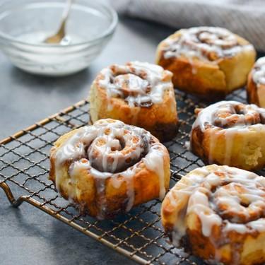 Quick Cinnamon Buns with Buttermilk Glaze Recipe   SideChef