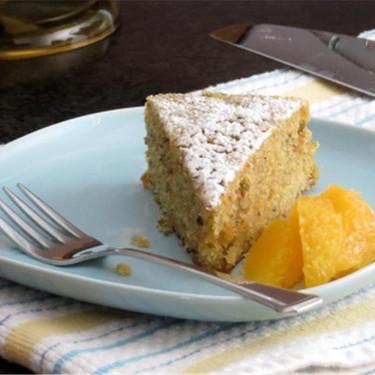 Pistachio Cake with Orange Segments Recipe | SideChef