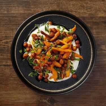Glazed Carrot and Chickpea Salad Recipe   SideChef