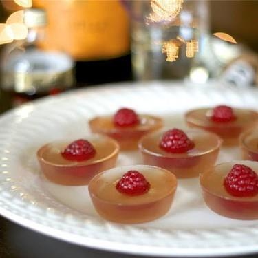 Framboise Champagne Jello Shots Recipe   SideChef