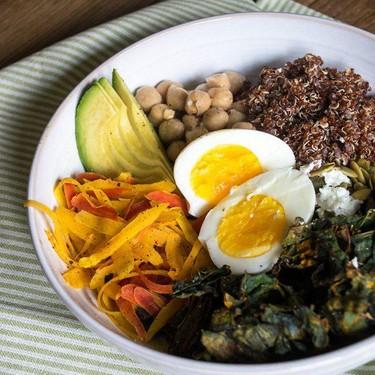 Kale and Quinoa Veggie Bowl Recipe | SideChef