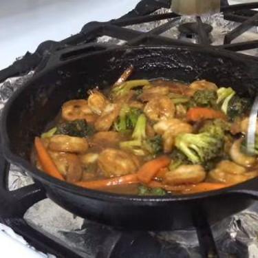 Shrimp Broccoli & Carrot Stir Fry Recipe   SideChef