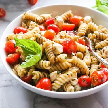Caprese Pasta Salad Recipe | SideChef