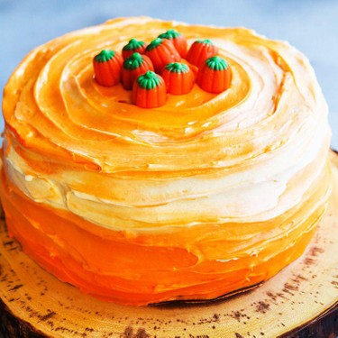 Pumpkin Spice Layer Cake Recipe | SideChef