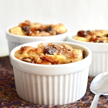 Rum Raisin Bread Pudding Recipe   SideChef