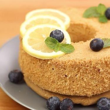 Lemon Chiffon Cake Recipe   SideChef