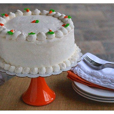 Carrot Cake with Cream Cheese Icing Recipe   SideChef
