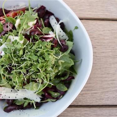 Blood Orange, Kalamata and Manchego Salad Recipe | SideChef