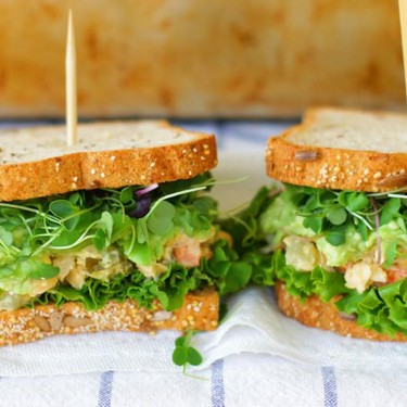 Gluten-Free Chickpea Salad Sandwiches Recipe | SideChef