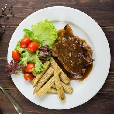 Chicken Chop with Black Pepper Sauce Recipe   SideChef
