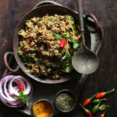 Lamb Mince with Peppers Recipe | SideChef