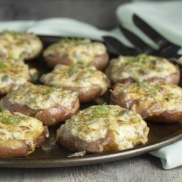 Creamy Caper Smashed Potatoes Recipe   SideChef