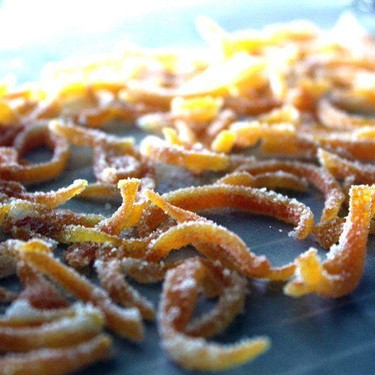 Candied Sugar Orange Peel Recipe   SideChef
