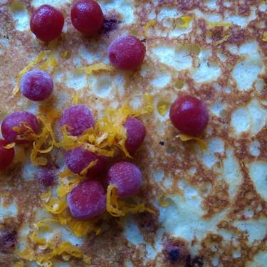 Orange and Autumn Olive Pancakes Recipe | SideChef