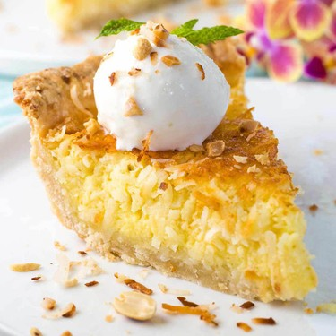Coconut Custard Pie Recipe   SideChef