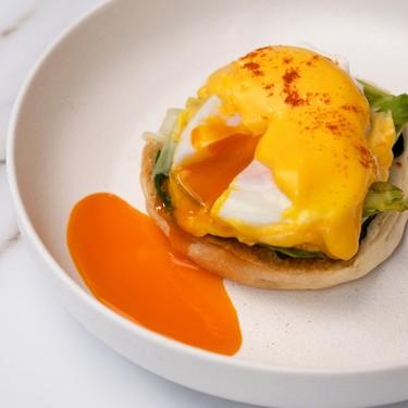 Eggs Florentine with Summer Vegetables Recipe   SideChef