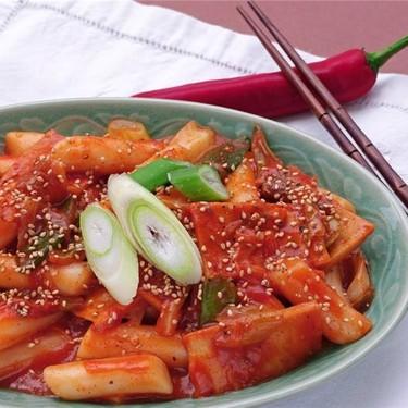 Spicy Korean Rice Cakes Recipe   SideChef