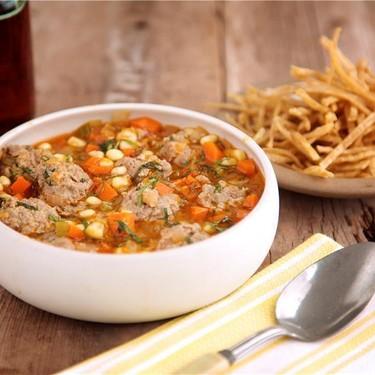 Lamb Meatball Soup (Sopa de Albondigas) Recipe   SideChef