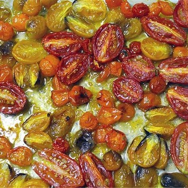 Honey Roasted Cherry Tomatoes Recipe | SideChef