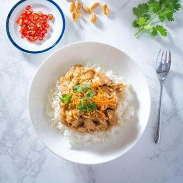 Thai Peanut Chicken Recipe | SideChef