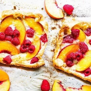 Raspberry Peach Tarts Recipe   SideChef