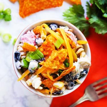 Taco Ranch Pasta Salad Recipe   SideChef