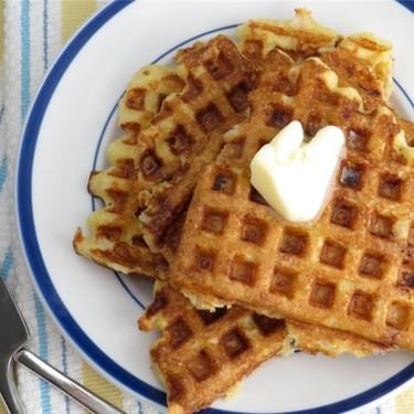 Ham and Manchego Waffles Recipe | SideChef