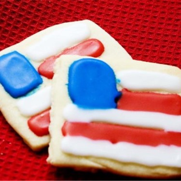 4th of July Flag Cookies Recipe | SideChef