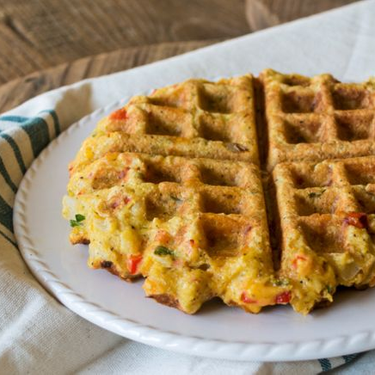 Gluten-Free Savory Cornbread Waffles Recipe   SideChef